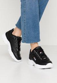 Fila - STRADA - Sneakers laag - black - 0