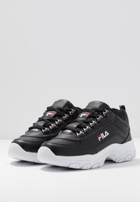 Fila - STRADA - Sneakers laag - black - 4
