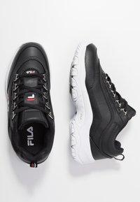 Fila - STRADA - Sneakers laag - black - 3