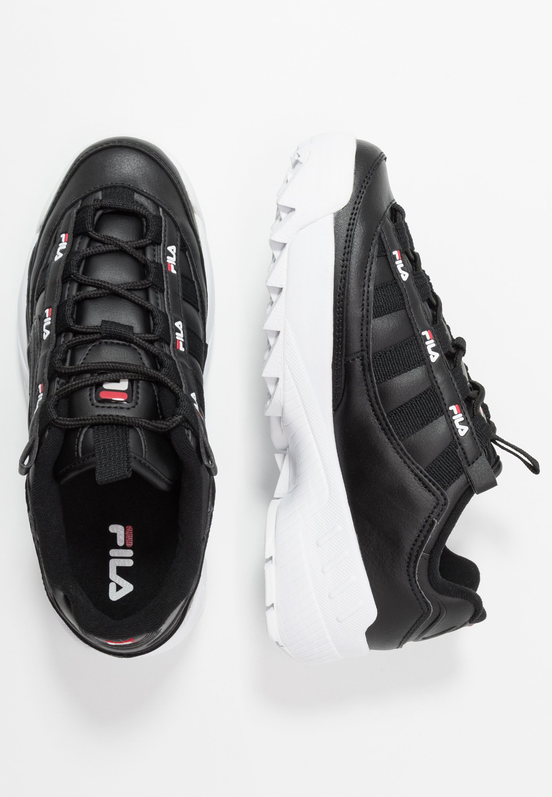 Fila D-formation - Sneakers Black/white/red