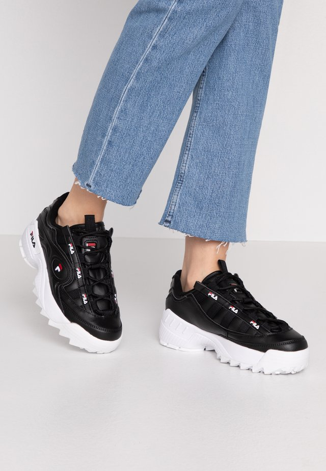 D-FORMATION - Sneakers laag - black/white/red