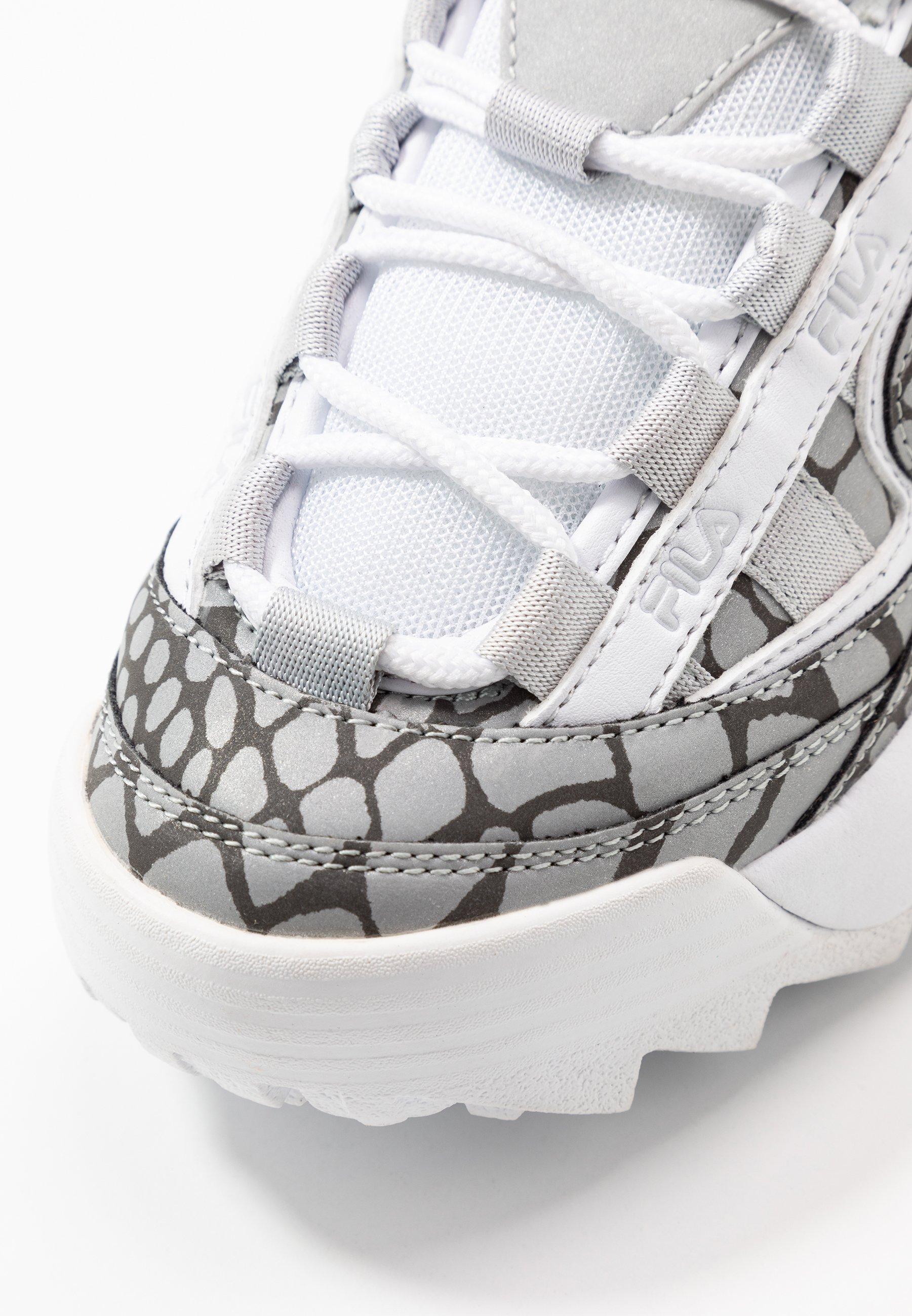 Fila D-FORMATION - Sneakersy niskie - glacier gray