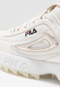 Fila - DISRUPTOR  - Baskets basses - marshmallow - 2