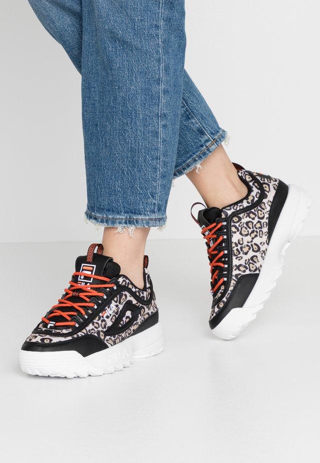 DISRUPTOR - Sneakers laag - black