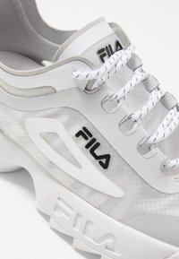 Fila - DISRUPTOR RUN  - Baskets basses - white - 2