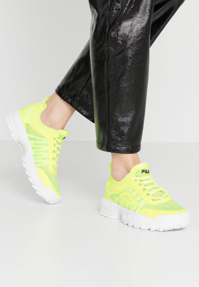 DISRUPTOR RUN  - Sneaker low - neon lime
