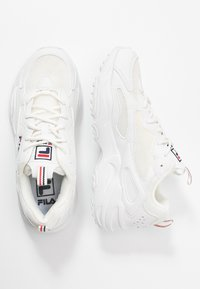 Fila - RAY TRACER - Sneakers laag - white - 3