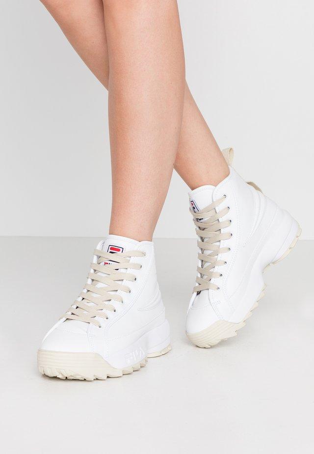 RETRORUPTOR  - Sneakersy wysokie - white