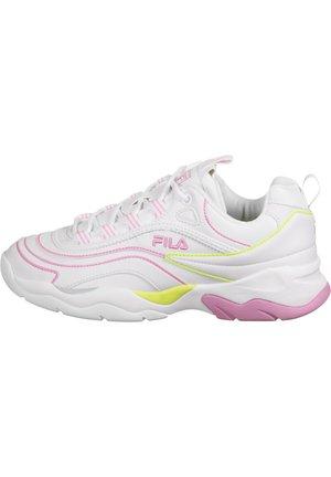 SCHUHE RAY LINES - Sneaker low - white/rosebloom