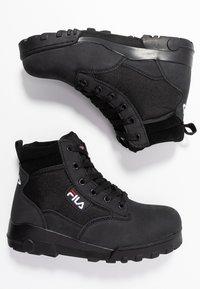 Fila - GRUNGE II MID - Ankle boots - black - 3