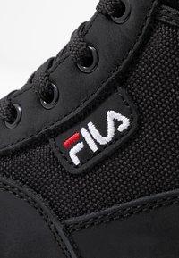 Fila - GRUNGE II MID - Ankle boots - black - 2