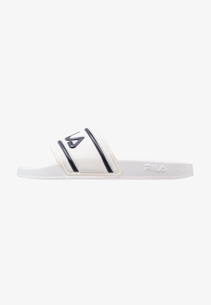 Fila - MORRO BAY - Sandales de bain - white