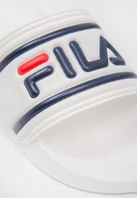 Fila - MORRO BAY - Sandales de bain - white - 5
