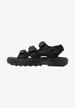 DISRUPTOR  - Chodecké sandály - black