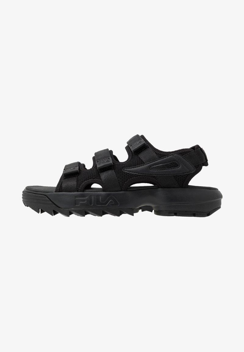 Fila - DISRUPTOR  - Sandales de randonnée - black