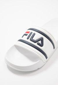Fila - MORRO BAY - Pantofle - white - 5