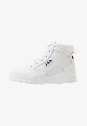 GRUNGE MID - Höga sneakers - white