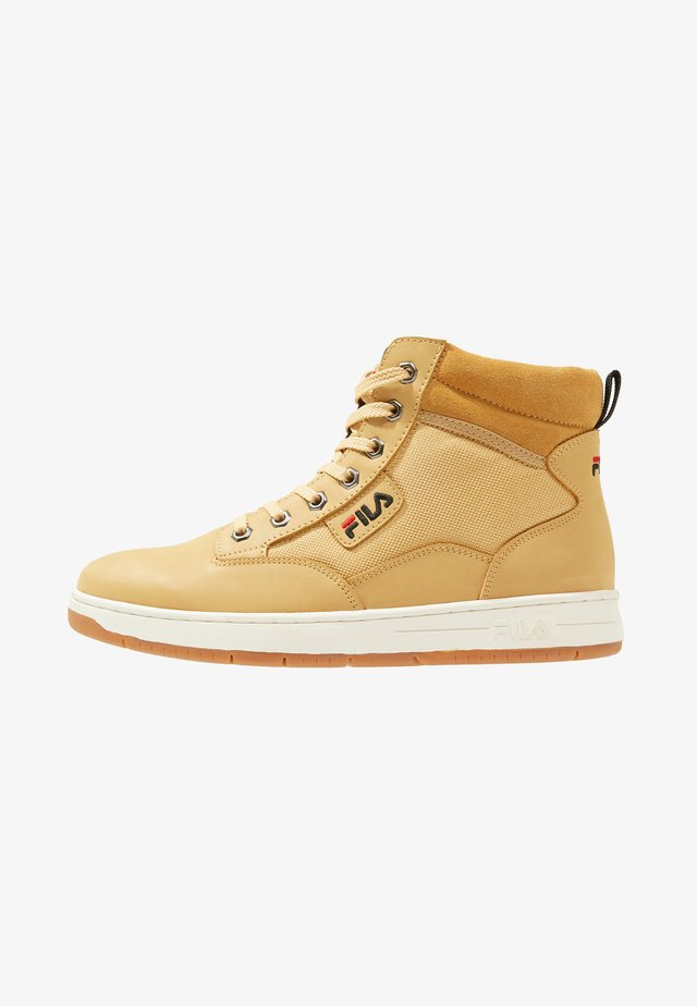 KNOX MID - High-top trainers - chipmunk
