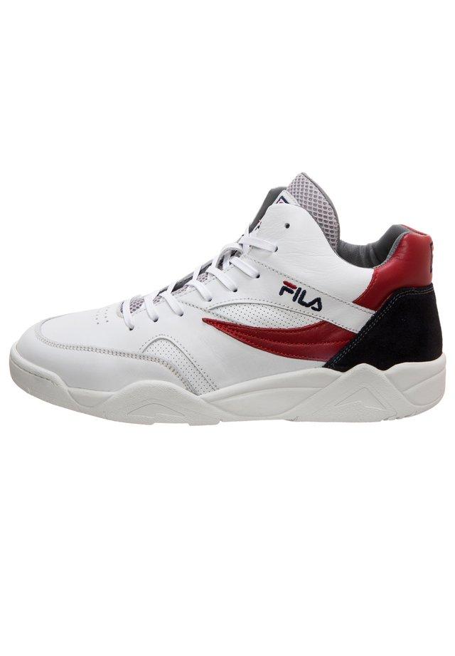 PINE CP HERREN - Sneaker low - white / fila navy / fila red