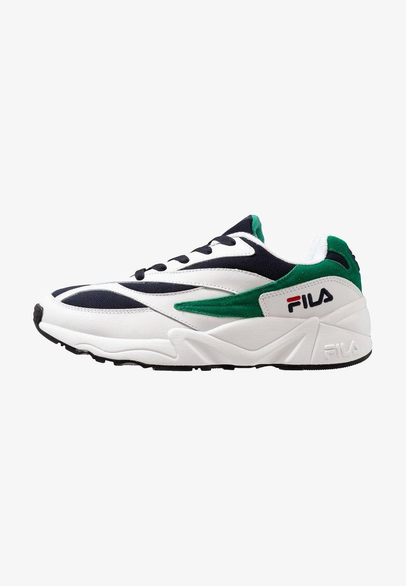 Fila - V94M - Sneaker low - white/navy/shady glade