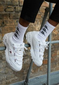 Fila - D-FORMATION - Sneakers laag - white/navy/red - 2
