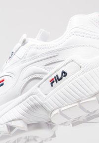 Fila - D-FORMATION - Sneakers laag - white/navy/red - 4