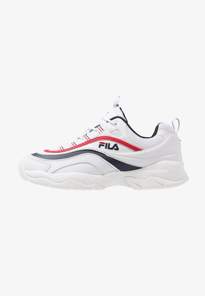 Fila - RAY - Trainers - white/navy/red