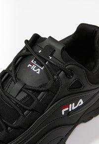 Fila - RAY - Sneaker low - black - 5
