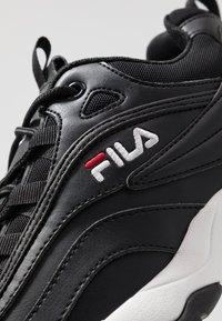 Fila - RAY - Sneakers - black - 5