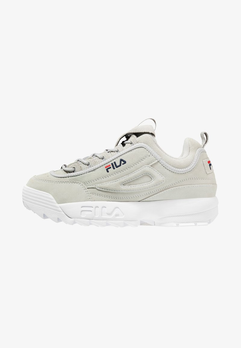 Fila - DISRUPTOR LOW - Trainers - gray/violet