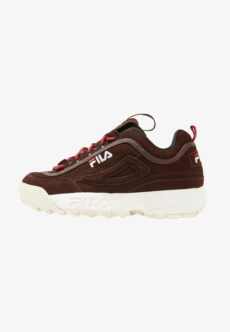 Fila - DISRUPTOR LOW - Sneakers - deep mahogany