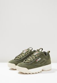 Fila - DISRUPTOR LOW - Sneakers laag - forest night - 2