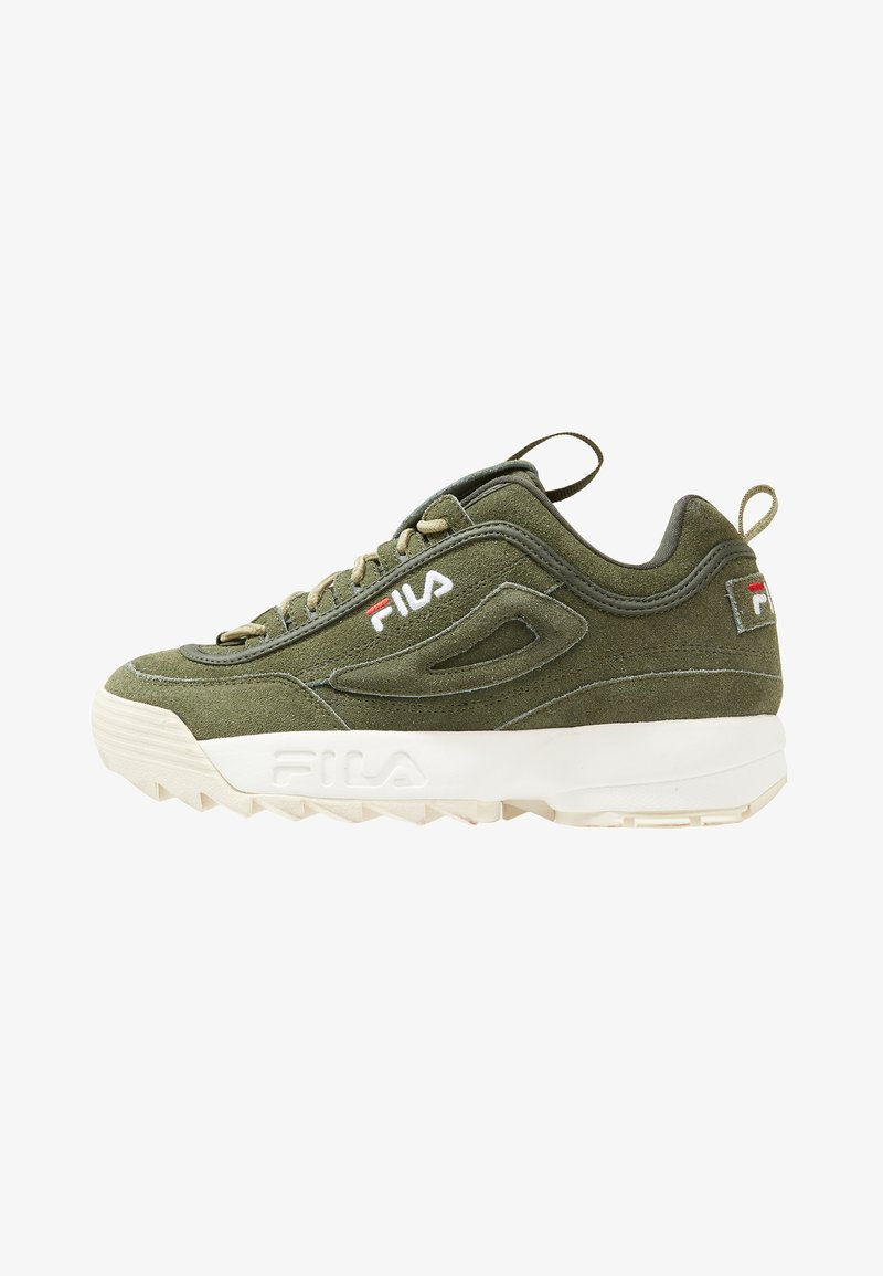 Fila - DISRUPTOR LOW - Trainers - forest night