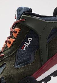 Fila - TRAILSTEP - Sneaker low - navy - 5