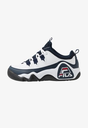95 GRANT HILL - Sneakers - white/dress blue