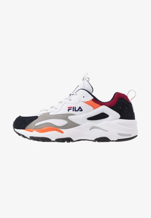 RAY TRACER - Sneakers - white/navy/rhubarb