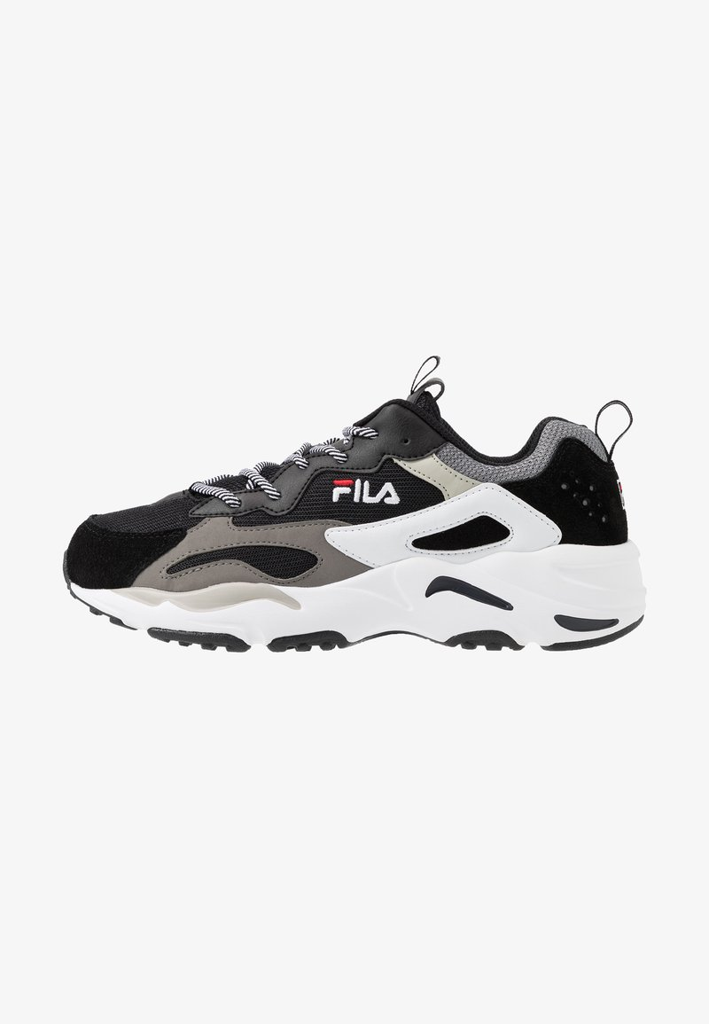 Fila - RAY TRACER - Sneakers laag - black/white