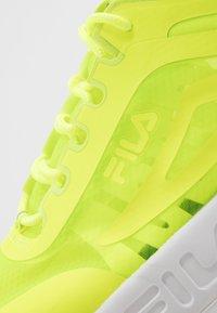 Fila - DISRUPTOR RUN - Baskets basses - neon lime - 5