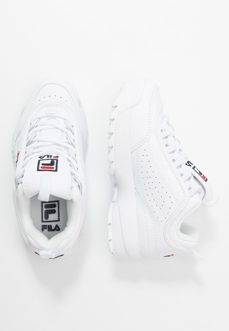 Fila - DISRUPTOR KIDS - Sneakers - white