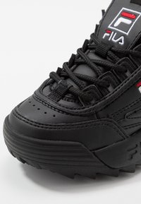Fila - DISRUPTOR KIDS - Baskets basses - black - 2