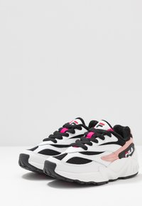 Fila - V94M - Sneakers basse - white/black/quartz pink - 3