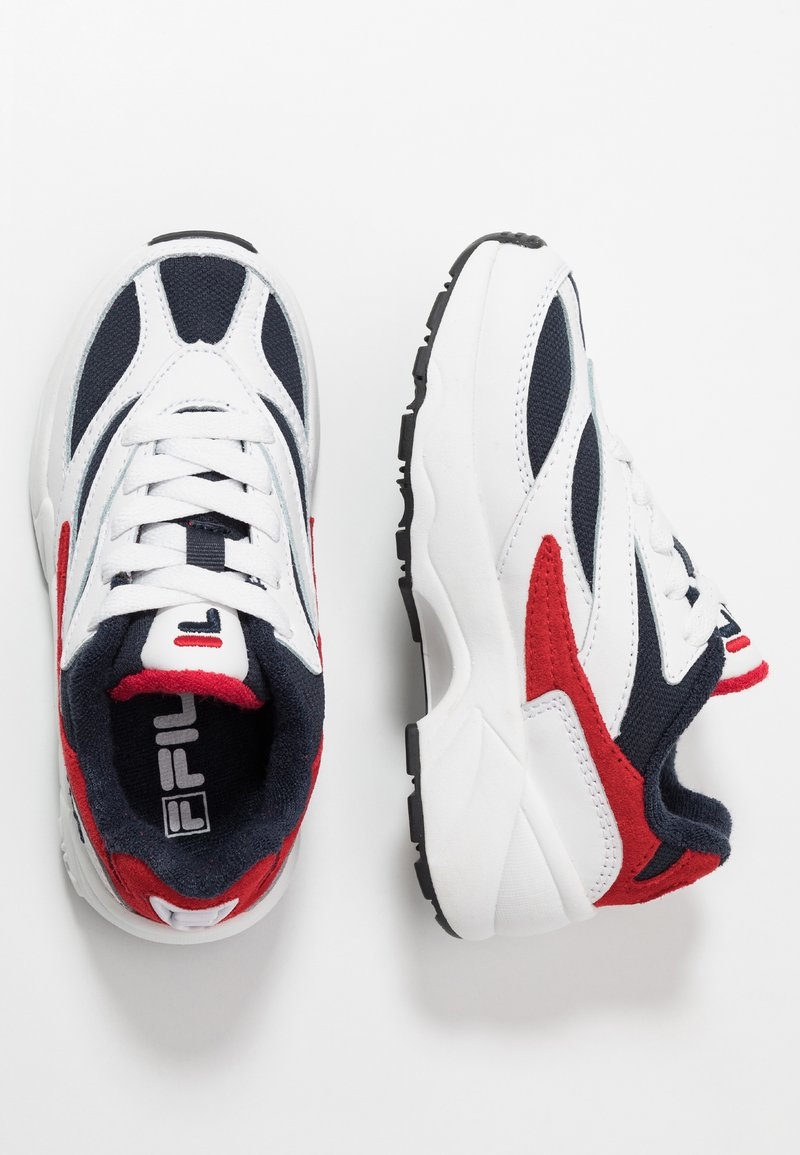 Fila - V94M - Baskets basses - white/navy/red