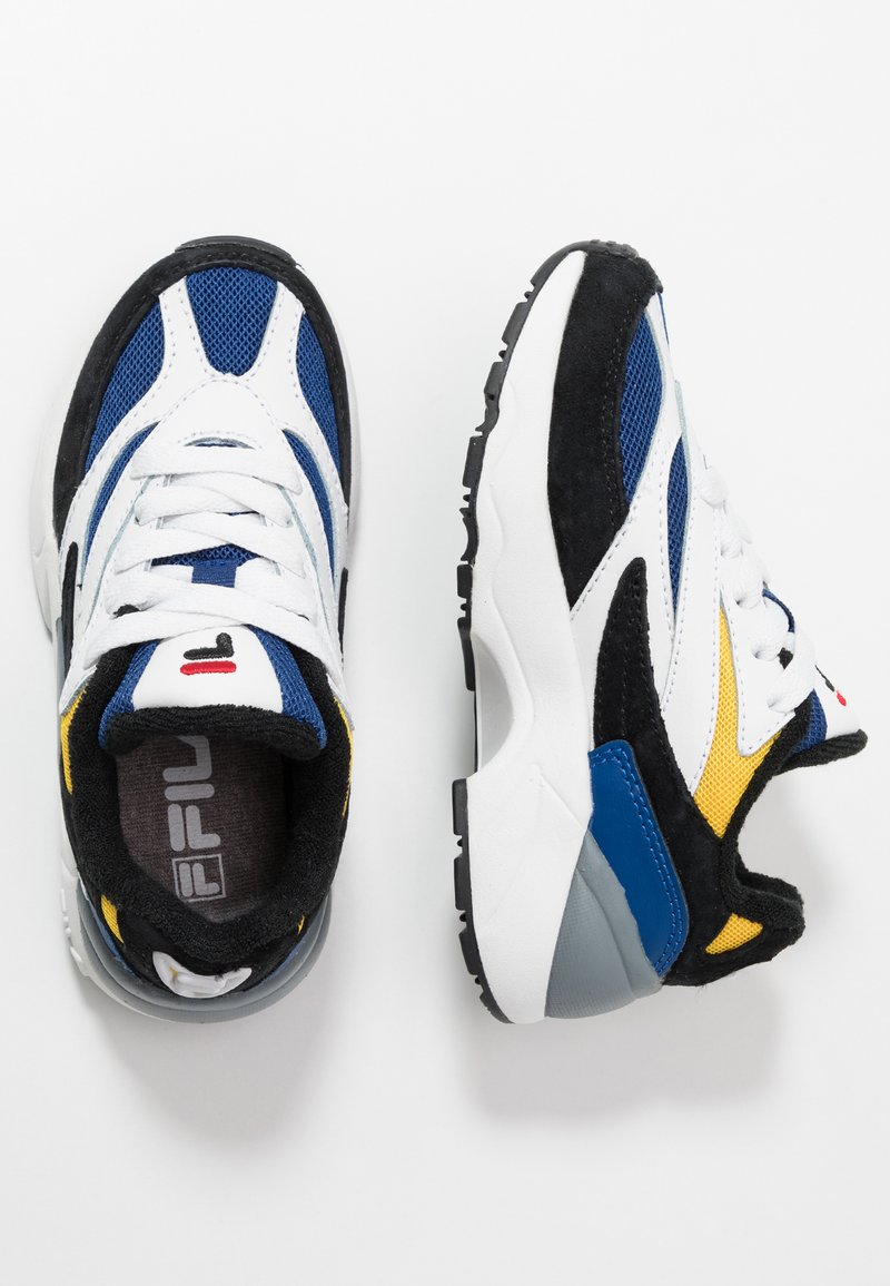 Fila - V94M - Sneakers basse - black/white/citrus