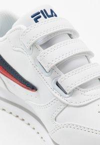Fila - ORBIT KIDS - Trainers - white/dress blue - 2