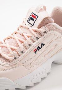 Fila - DISRUPTOR KIDS - Sneakers - rosewater - 2