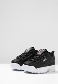 Fila - DISRUPTOR KIDS - Zapatillas - black - 3