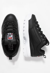 Fila - DISRUPTOR KIDS - Sneakers - black - 0