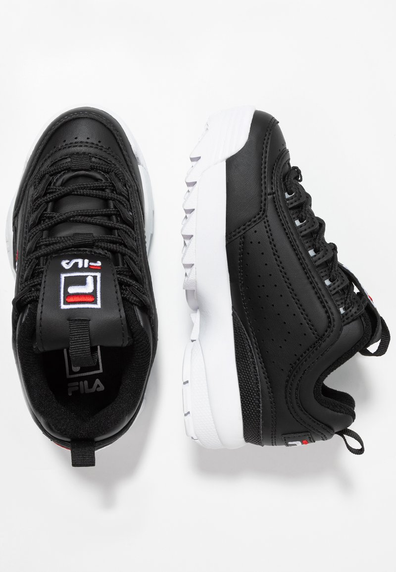 Fila - DISRUPTOR KIDS - Sneakers laag - black