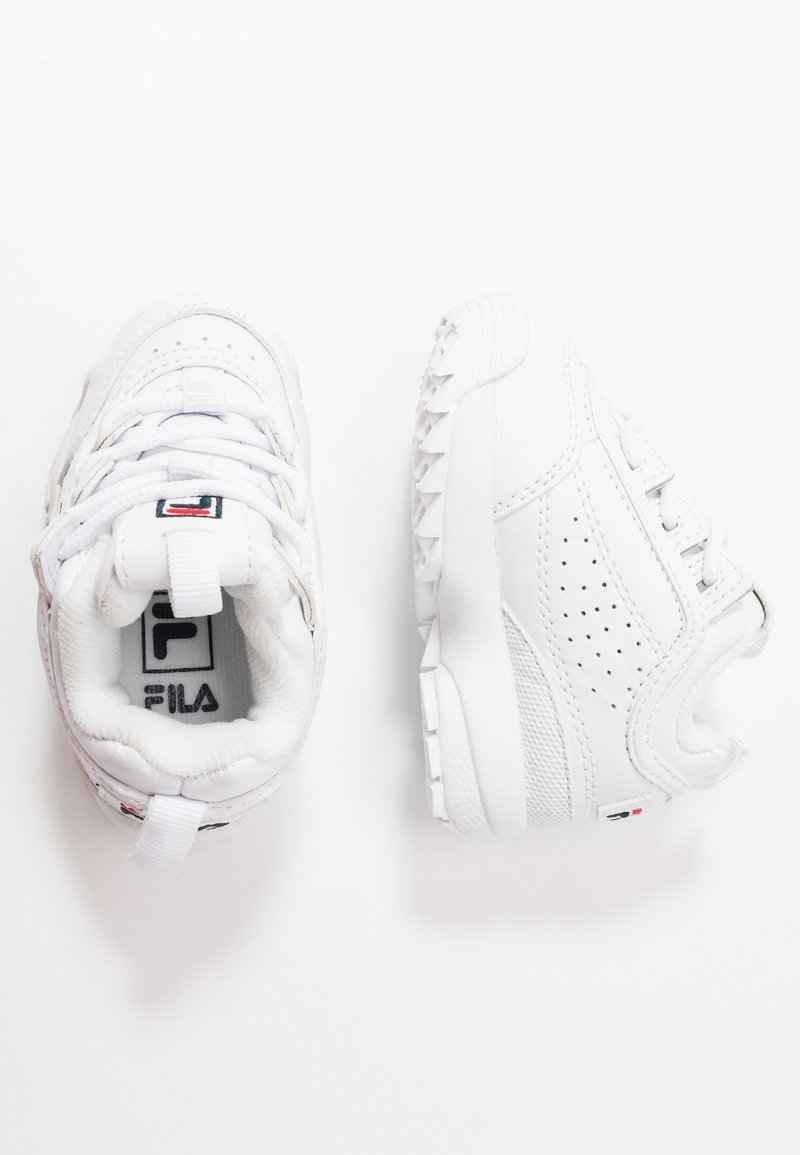 Fila - DISRUPTOR - Chaussures premiers pas - white