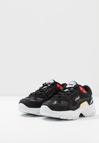 Fila - SELECT - Matalavartiset tennarit - black/crystal blue - 3